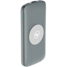 Внешний аккумулятор QW-10, 10000mAh, gray, OLMIO