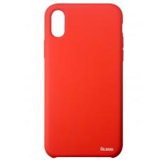 Чехол Olmio Velvet для iPhone X, красный