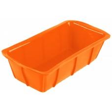 Форма для выпечки TalleR TR-6202, прямоугольная оранжевая