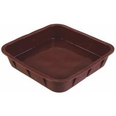 Форма для выпечки TalleR TR-6210, квадратная коричневая