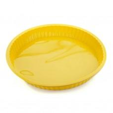 Форма для выпечки TalleR TR-6203, круглая желтая