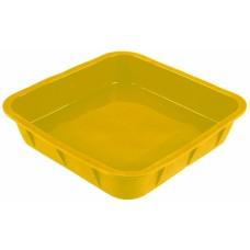 Форма для выпечки TalleR TR-6210, квадратная желтая