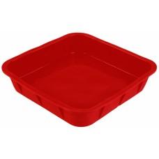 Форма для выпечки TalleR TR-6210, квадратная красная
