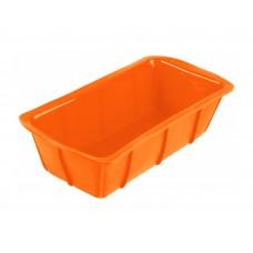 Форма для выпечки TalleR TR-66217, прямоугольная оранжевая
