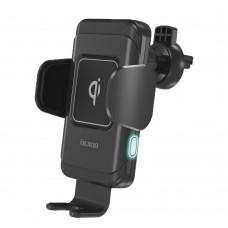 Автомобильный держатель с беспроводной зарядкой Robo Qi, 10W, OLMIO