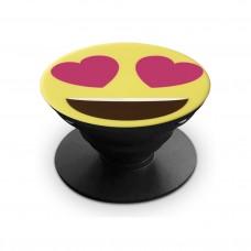 Держатель для смартфонов POPS #04 (Hearts Smile), OLMIO