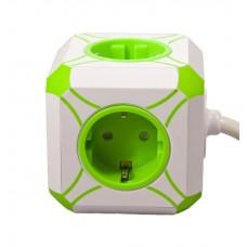 Сетевое зарядное устройство MiniCUBE USB с удлинителем