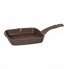 Сковорода-гриль «Гранит» Brown 24x24