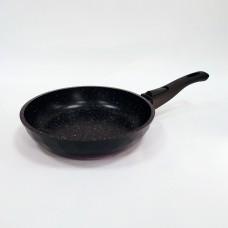Сковорода-Бриллиант со съемной ручкой Гранит Red 20см