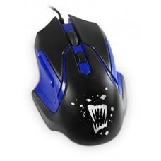 Мышь игровая проводная Rage RM-07, 6кн, 800-2400DPI, 1.3m, Partner